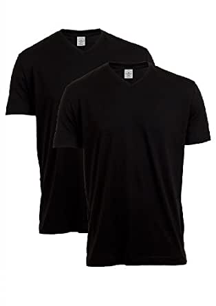 Tom Tailor Herren V - Neck T-Shirt 1022511.09.10 Regular Fit 2er Pack