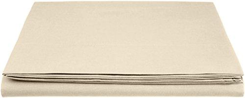 AmazonBasics - Lenzuolo 'Everyday' in 100% cotone, 280 x 320 cm - Tapioca