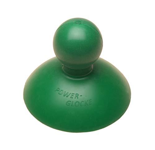 Power-Glocke, Pümpel, Saugglocke, Pömpel für Dusche, WC, Abflüsse und Waschbecken, sehr leistungsstark (Grün)