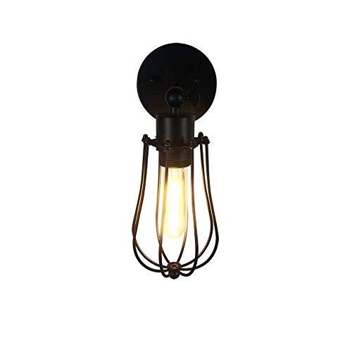 GaLon Romantische Schutzbrille Scheinwerfer Nacht Kreative Retro Warm Schmiedeeisen Treppe Kabine Grapefruit Wandleuchte [Energieeffizienzklasse A ++] -