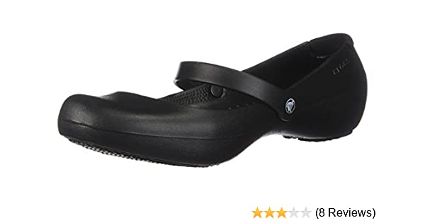 91a4019d1267b Crocs Alice Work, Women's Ballet Flats: Amazon.co.uk: Shoes & Bags