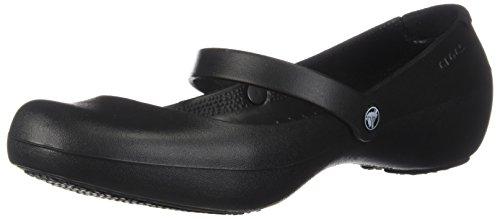 Crocs Alice Work, Mujer Zapato plano, Negro Black, 42-43 EU