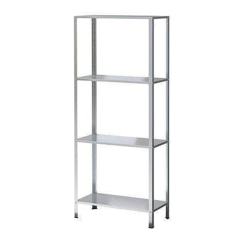 Sunrise Home Möbel (IKEA HYLLIS Regal verzinkt; für drinnen und draußen; (60x27x140cm))