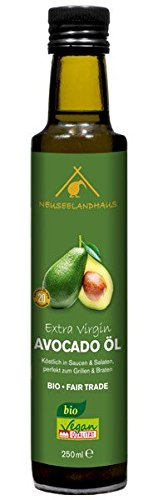 Avocadoöl Bio 250 ml - kalt gepresst, extra virgin, ultrahocherhitzbar -
