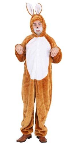 ORLOB Costume Coniglio Marrone Uomo