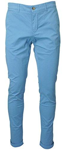 Serge Blanco -  Pantaloni  - Uomo blu 48