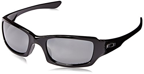 Oakley Sonnenbrille Fives Squared, OO9238, Schwarz (Polished Black)