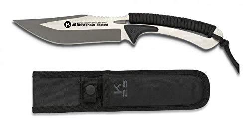 K25-32377 - Cuchillo encordado K25 Black. Total: 25 - Herramienta para