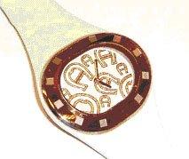 Aigner A21240LH - Orologio da polso Donna, Pelle, colore: Bianco