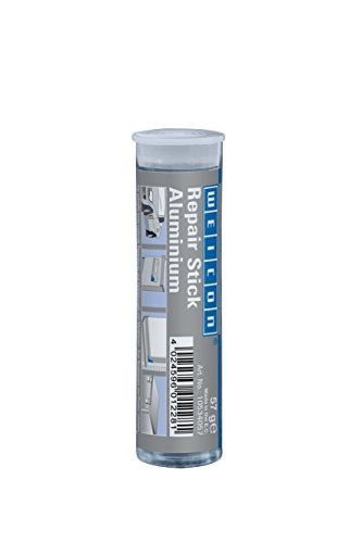 WEICON Repair Stick Aluminium, 2 Komponenten Kleber für nicht rostende Reparaturen, 57g