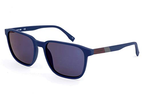 Lacoste Herren L873S Sonnenbrille, Blau, 55
