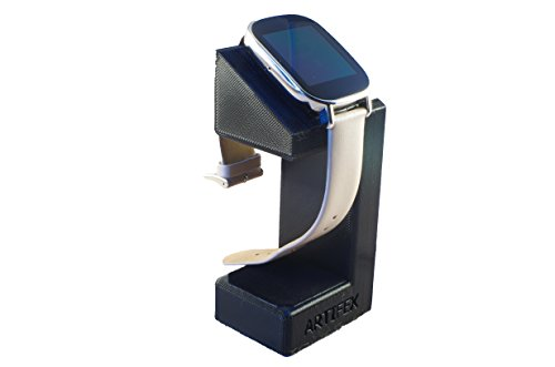ASUS ZenWatch 2 Stand, Artifex Charging Dock Stand for ZenWatch2, New 3d Printed Technology, Smartwatch Cradle