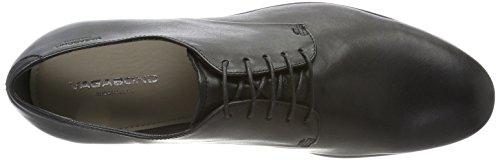 Vagabond Linhope, Derby Chaussures À Lacets Homme Noir (noir)