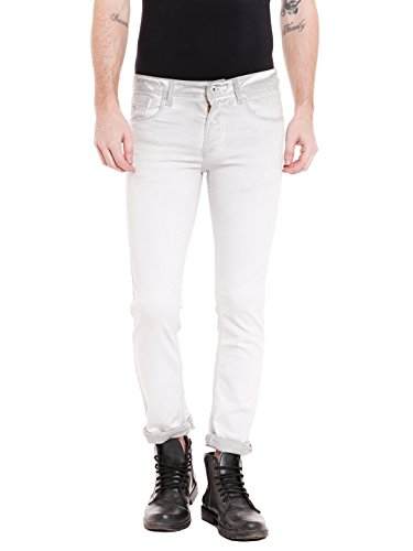 KILLER Men's Skinny Fit Jeans (E-9525 ORLAND SKFT MGRY_Grey_34W x 34L)  available at amazon for Rs.1859