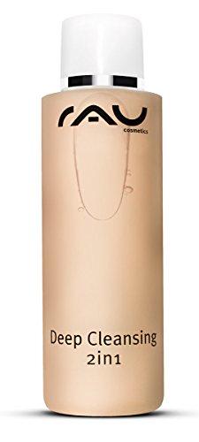 RAU Deep Cleansing 2in1 200 ml - Nettoyant visage en profondeur. Lotion tonique nettoyante visage, eau démaquillante. Ce soin visage tonifiant nourrissant a également un effet antibactérien, anti-inflammatoire, apaisant et astringent.