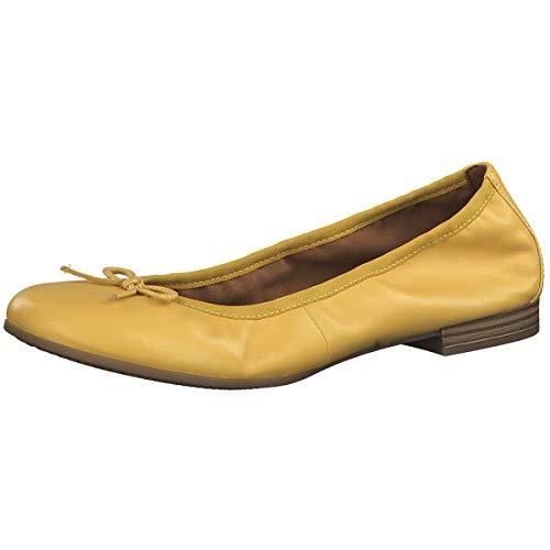 Tamaris Damen Ballerinas 1-1-22116-23 602 gelb 719093 -