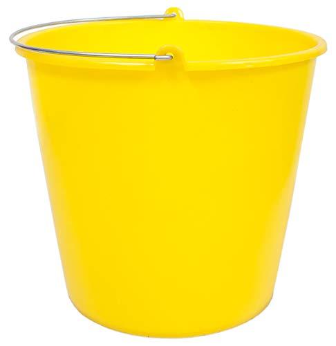 PAMEX - Cubo engomado Colores 12 litros Amarillo