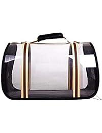 e00561ffaf1ea Panorama Transparent Bag Pet Bag Katzentasche Pet Rucksack Cat Dog  Universal Transparent Faltende Reise