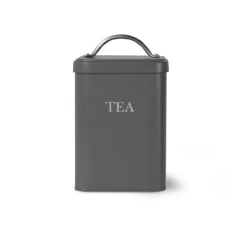 Garden Trading Boîte à thé Gris anthracite