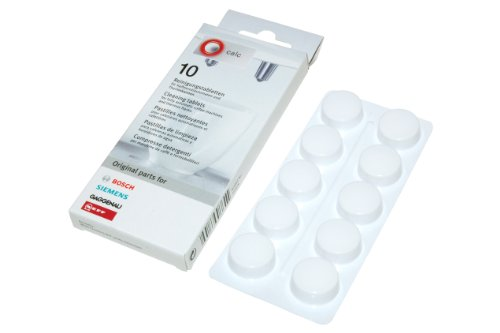 Bosch Cleaning Tablets for Coffee Machines, Pack of 10 Test