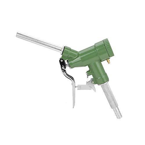 Delaman Zapfpistole Heizöl Diesel Kerosin Benzin Zapfpistole mit Durchflussmesser -