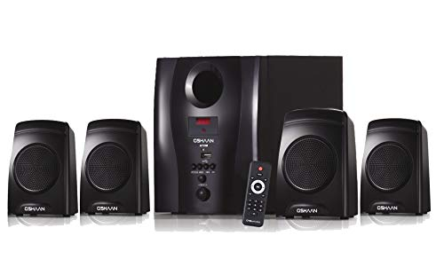 Oshaan CMPS 16 4.1 Channel Multimedia Home Theatre Speaker,Bluetooth connectivity,FM/AUX/USB Support
