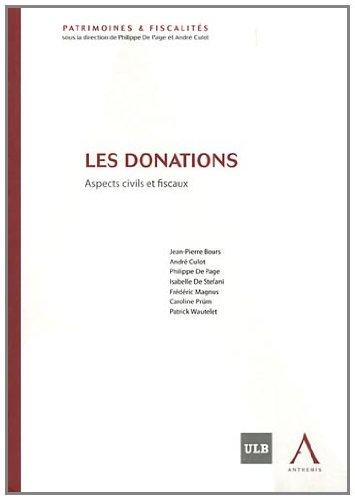 Les donations : Aspects civils et fiscaux