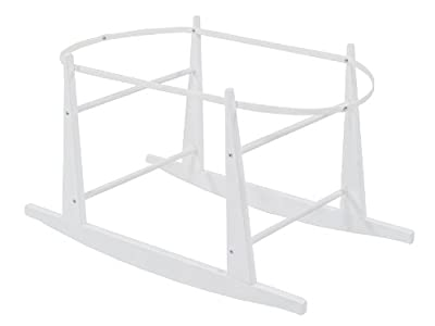 Shnuggle Rocking Moses Basket Stand - White