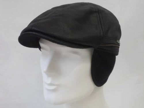 redding-earflap-cap-stetson-gatsby-leather-cap-m-56-57-black