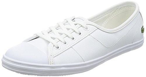 Lacoste Damen Ziane Bl 1 SPW Sneaker, Weiß (WHT), 42 EU