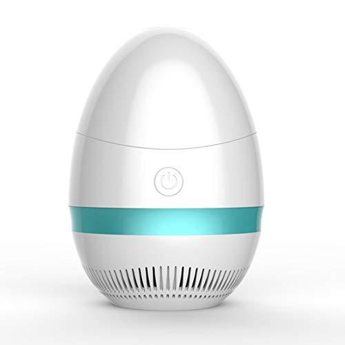 Rryilong Mückenlampe, USB, UV, LED, kein Lärm, für draußen, Büro, Küche, Schlafzimmer, Baby blau (öl-lampe Versorgt)
