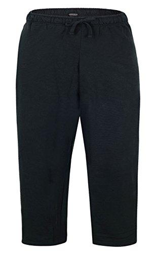 Redfield Jogginghose in schwarz Übergrößen bis 8XL, Größe:3XL