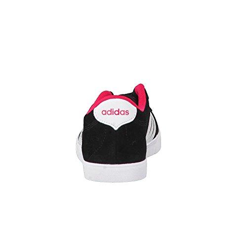adidas Damen Courtset W Turnschuhe, Schwarz Core Black/Ftw White/Energy Pink