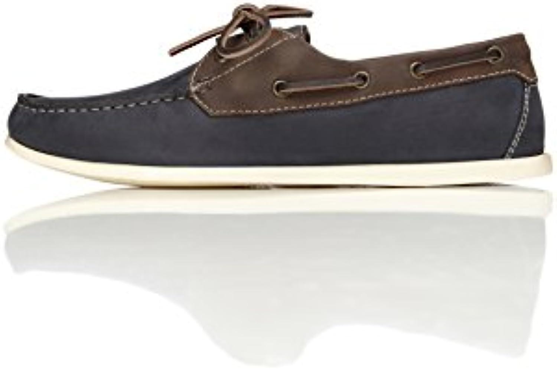 FIND Herren Bootsschuhe aus Leder  Billig und erschwinglich Im Verkauf