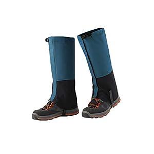 31nUYzrJQCL. SS300  - SMTD Men&Women Winter Hiking Walking Gaiters Reinforced TPU Strap Breathable 500D Nylon Climbing&Mountain Leg Cover Skiing Snow Legging Shoe Gaiters 1 Pair