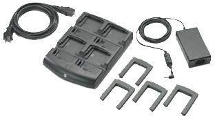 Zebra SAC7X 00-400CES Gerät Ladegerät-Mobile Gerät Ladegeräte (Indoor, PDA, AC, MC70MC75MC75A MC3000, schwarz) Motorola Pda