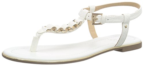 Another Pair of Shoes Sandra K1 -Infradito Donna Bianco (White 04)