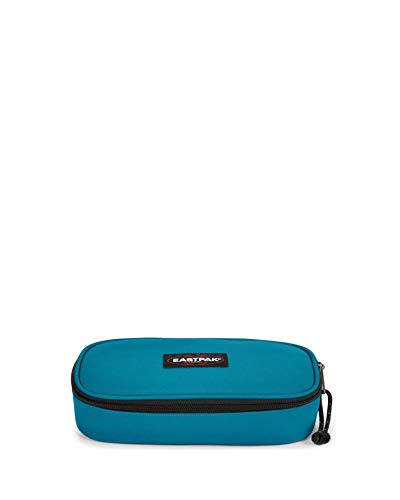 Eastpak Oval Single Federmäppchen, 22 cm, Blau (Novel Blue)