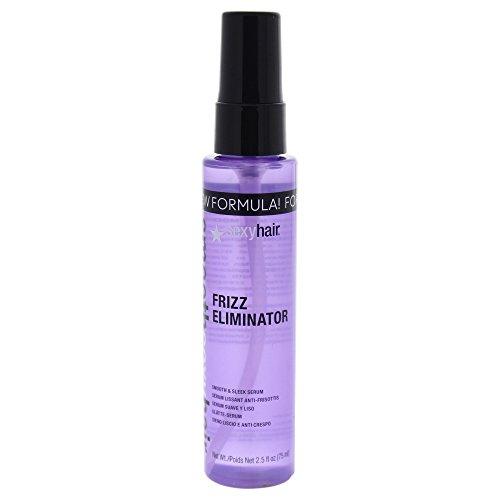 Frizz Hair Serum (sexyhair Frizz Eliminator Smooth & Sleek Serum, 1er Pack (1 x 75 ml))
