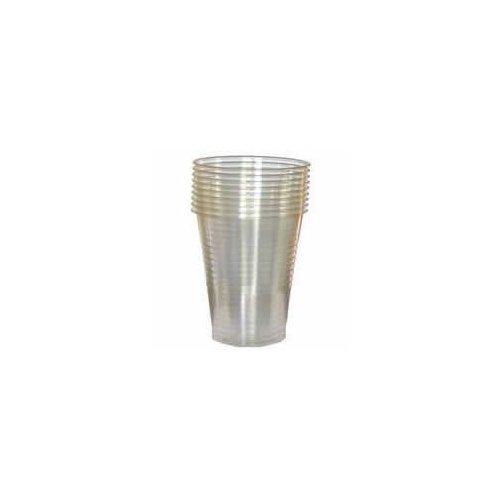 Elite 100 jetables en Plastique Transparent Tasses ou Verres à Boire 198,4 Gram, Transparent, A