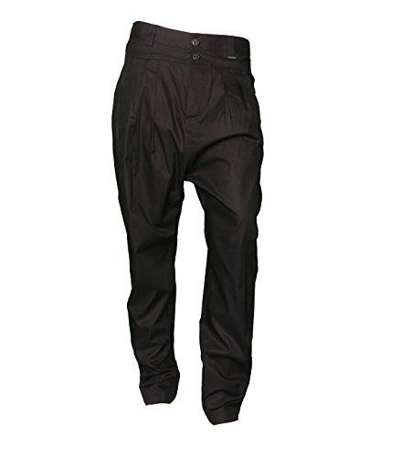 BILLTORNADE Herren Hose - Baumwolle - schwarz 4220noir 40