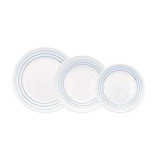 Arcopal AVREI Blue Opal Glass Dinner Set