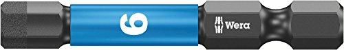 Wera 840/4 IMP DC Impaktor Bits SB 6,0, Hex-Plus, 6.0 x 50 mm, 05073946001
