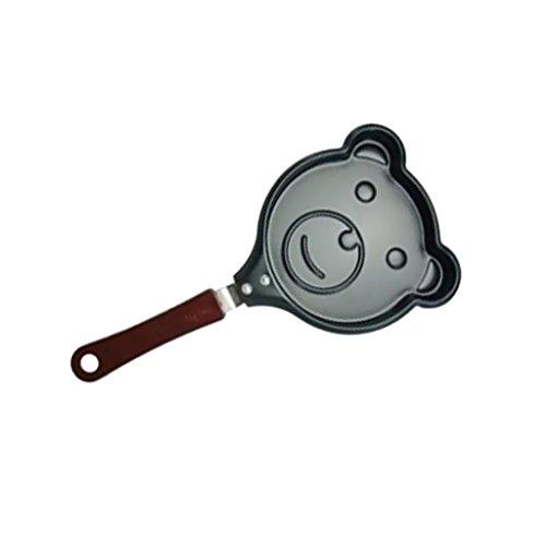 Ei Pfannkuchen Omelett Mini Nicht Deckel Topf Kochtopf Muster Bratpfanne Verdicken Neue - Bär