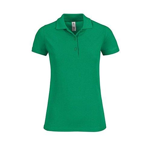 B&C Collection - Polo - Femme Vert - Vert vif