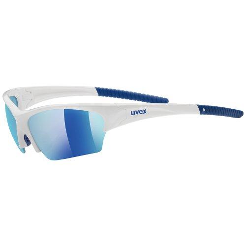 Uvex Sportsonnenbrille Sunsation, White Blue/Lens Mirror Blue, One Size, 5306068416