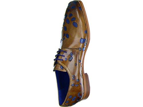 Melvin & Hamilton Lewis 8, Chaussures de Ville à Lacets Pour Homme mittel-braun