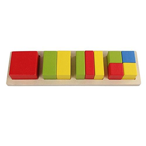Symbol Kinderspielzeug Bausteine für Kinder Spielzeug Geometrie Holz Lernspielzeug Geschenk Kids Toys