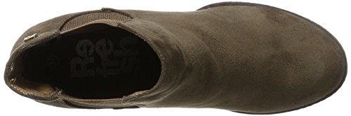 XTI Damen 063701 Chelsea Boots Braun (Taupe)