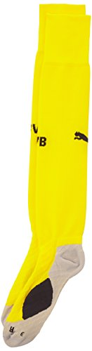 Puma Bvb Int'l Chaussettes Dortmund Homme Cyber Yellow/Black FR